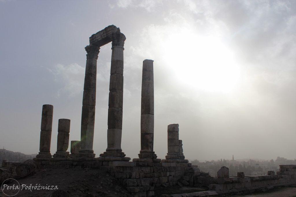 Pozostałości rzymskiej świątyni Herkulesa
