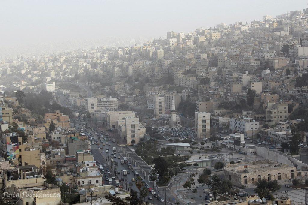 Widok na Amman