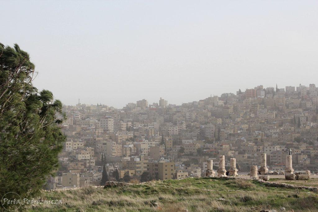 Wzgórze Cytadeli z widokiem na Ammman