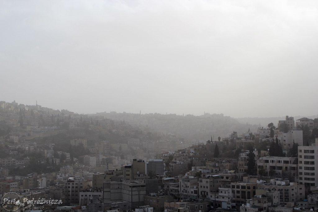 Wzgórza Ammanu porośnięte budynkami