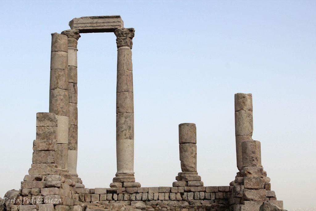 Pozostałości świątyni w Cytadeli